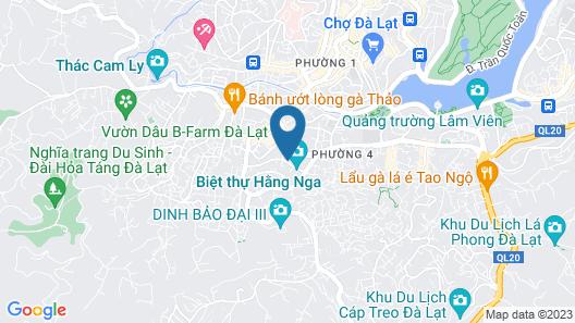 Dalat Boutique Hotel Map