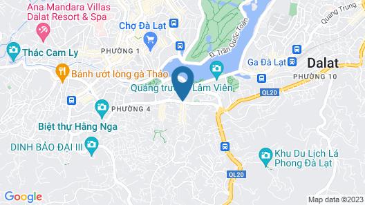 La Fleur Premium Central Apartment Map