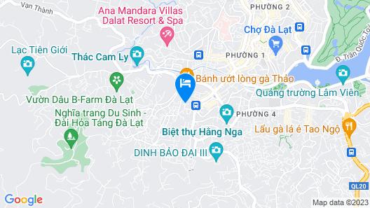 Minh Chien Hotel Map