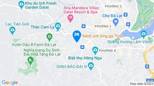 Hung Phong Hotel Map