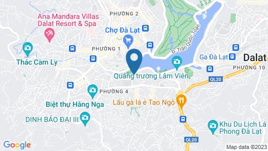 PARK HOTEL DALAT Map