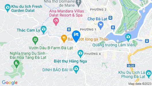 Saigon Dalat Hotel Map