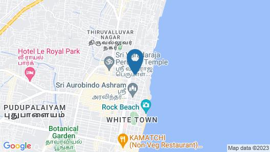 Routard Pondicherry Map