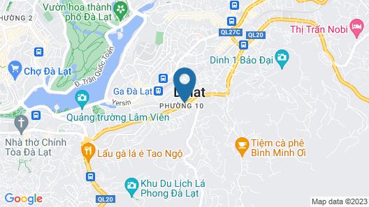 Aura Apartment Da Lat  Map