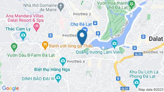 Thanh Do Hotel Da Lat Map