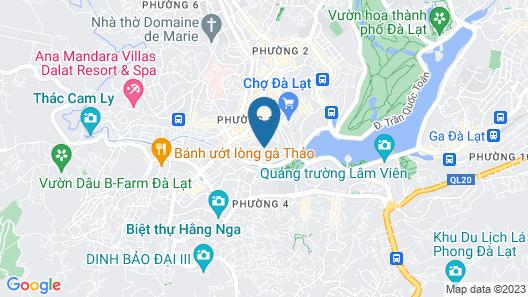 Hotel Du Lys Dalat Map