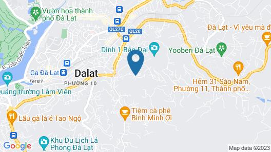 Antonico Villa Dalat Map