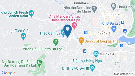 Dang Uyen Hotel Map