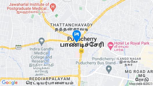 Accord Puducherry Map
