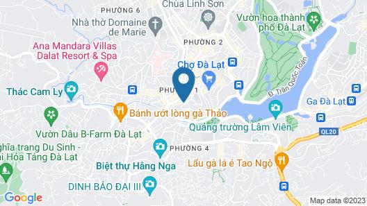 Huu Nghi Hotel Map