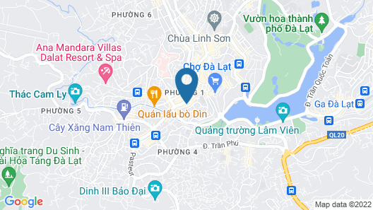 Huong Moc Hotel Map