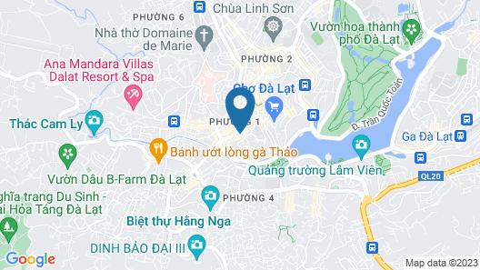 Van Quynh Hotel Dalat Map