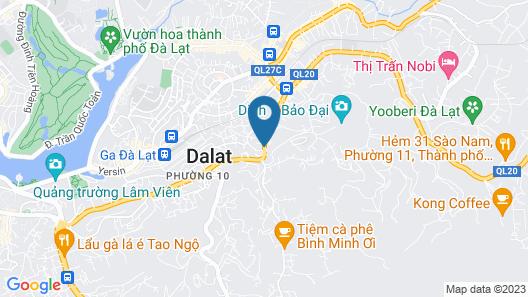 Homestay Thuy Duong Map