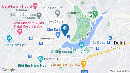 Lake View Hotel Map