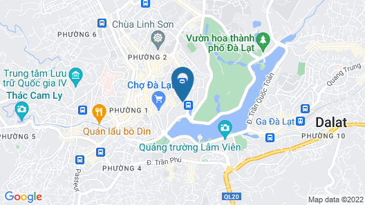Muong Thanh Da Lat Map