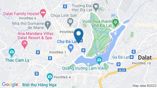 Dragon King 1 Hotel Da Lat Map