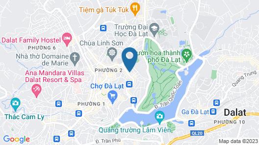 Pha Le Da Lat Guesthouse Map