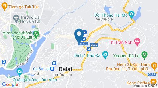 Canary House Da Lat Hotel Map