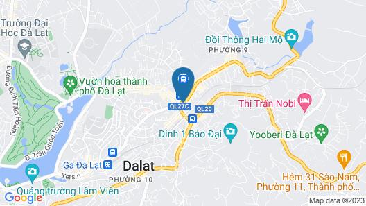 La Sapinette Hotel Dalat Map