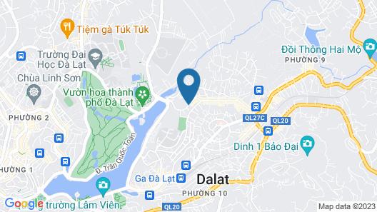 Daisy Gold Dalat Map