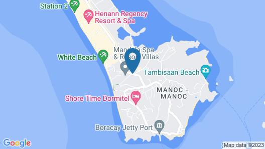 Boracay Grace Hotel Map