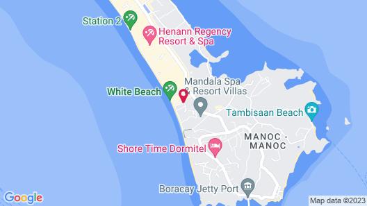 Turtle Inn Resort Map