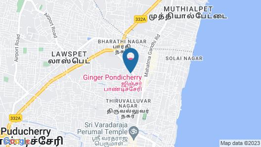 Ginger Pondicherry Map