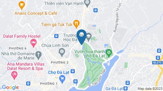 T&T Hotel Dalat Map