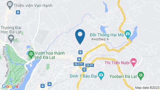 Villa Homestay Minh Hieu Map