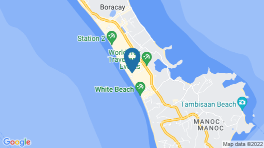 La Isla Bonita Resort and Spa Map