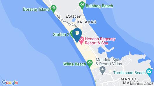 Boracay Mandarin Island Hotel Map