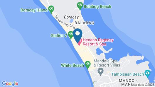 Boracay Midtown Hotel Map