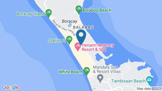 Boracay Backpackers Map