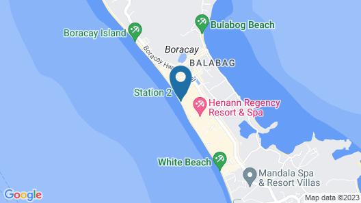 Henann Palm Beach Resort Map