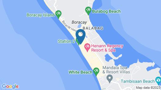 Boracay Uptown Map
