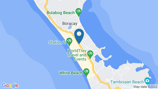 Hue Hotels and Resorts Boracay Map