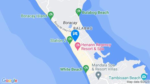 El Moro Resort Boracay Map