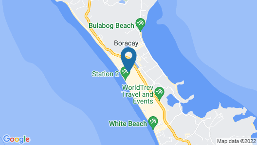 The Tides Hotel Boracay Map