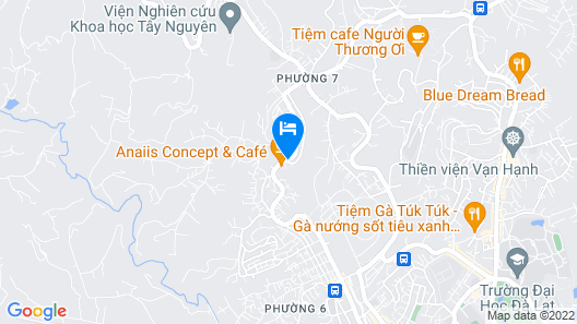 The Train Station Homestay Map