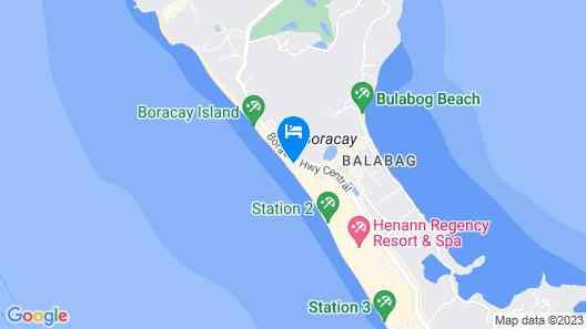Robinson Beach House Map