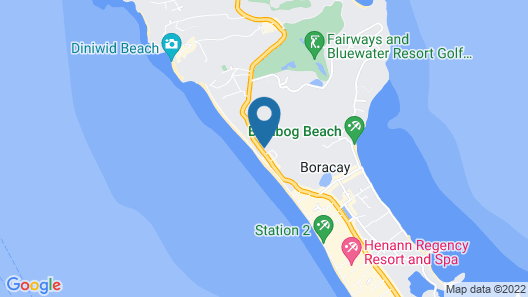 The Muse Hotel Boracay Map