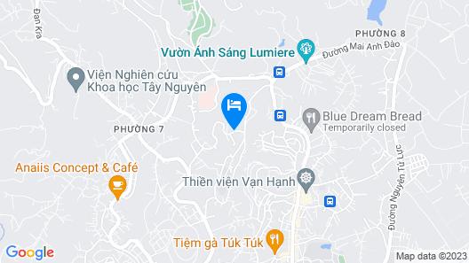 My Khanh Hotel Map