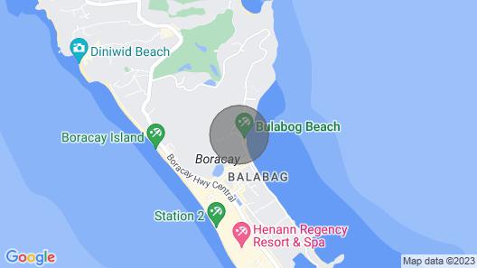 Palm Breeze Villa Boracay Map