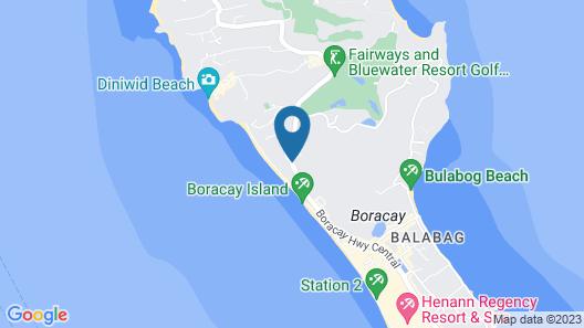 Henann Prime Beach Resort Map