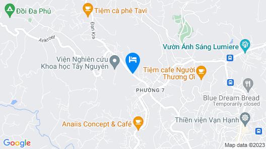 Thuat Khuyen Hotel Map