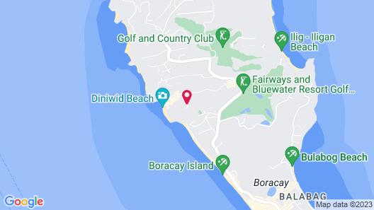 Boracay Amor Apartments Map