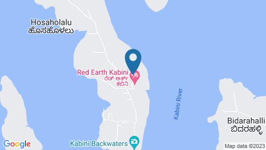 Red Earth Kabini Map