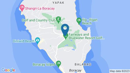 Fairways and Bluewater Boracay Map