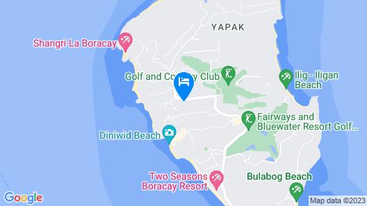 Boracay Grand Vista Resort & Spa Map