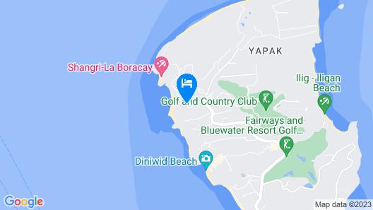 Movenpick Resort & Spa Boracay Map